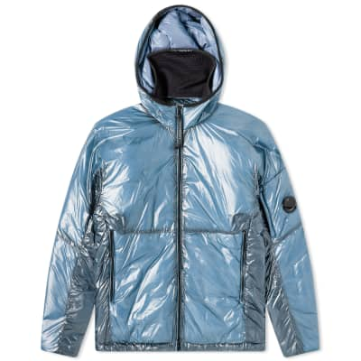 CP COMPANY JUNIOR chrome arm lens bomber jacket in BLUE rrp £265