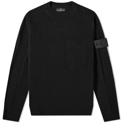 Stone Island Shadow Project Ultra-Twisted Crew Knit