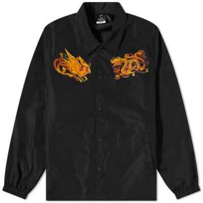 CLOTTEE By CLOT Dragon Phoenix Coach Jacket