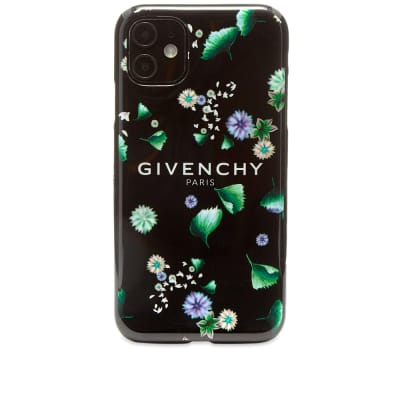 Givenchy Floral Logo iPhone XI Case