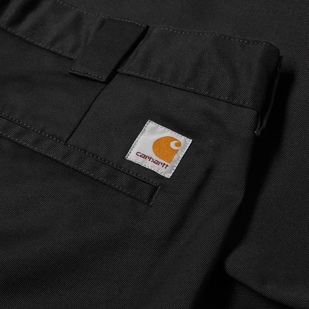 Carhartt WIP Master Pant - Black Rinsed