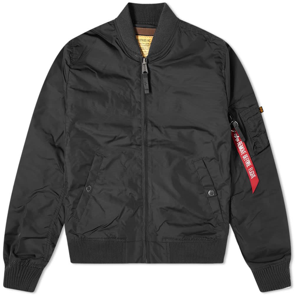 Alpha Industries MA-1 TT Jacket - Black