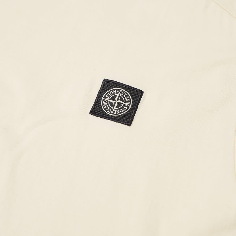 Stone Island Patch Logo Tee - Ivory