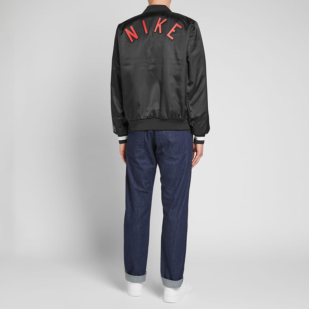 Nike Air Varsity Jacket - Black & Sail