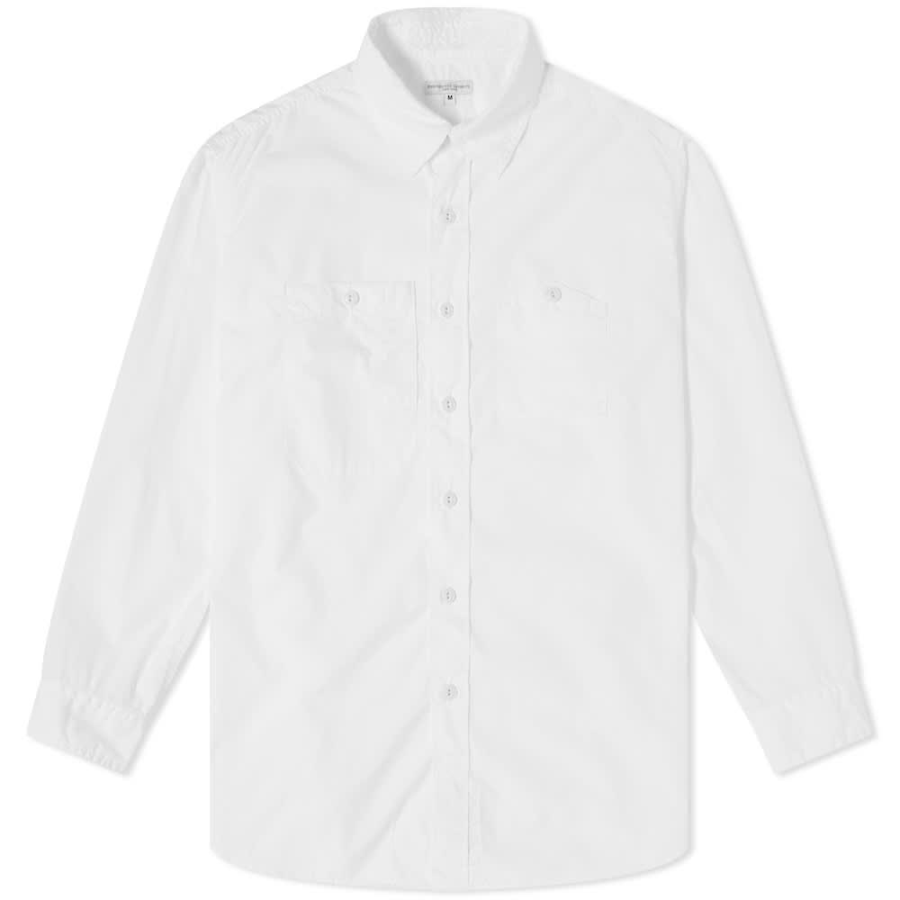 Engineered Garments Work Shirt - White