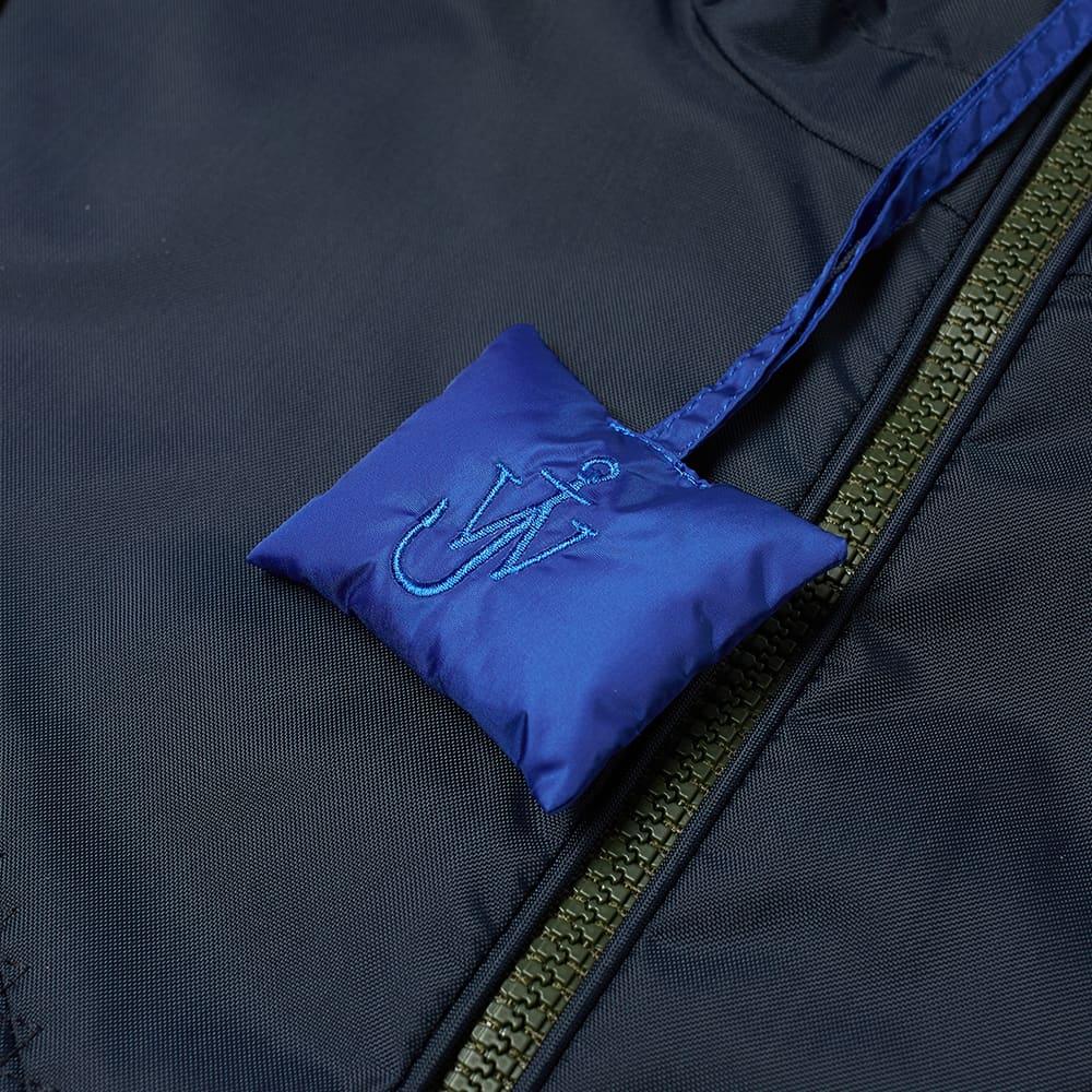 Moncler Genius x JW Anderson Arm Stripe Shell Jacket - Navy