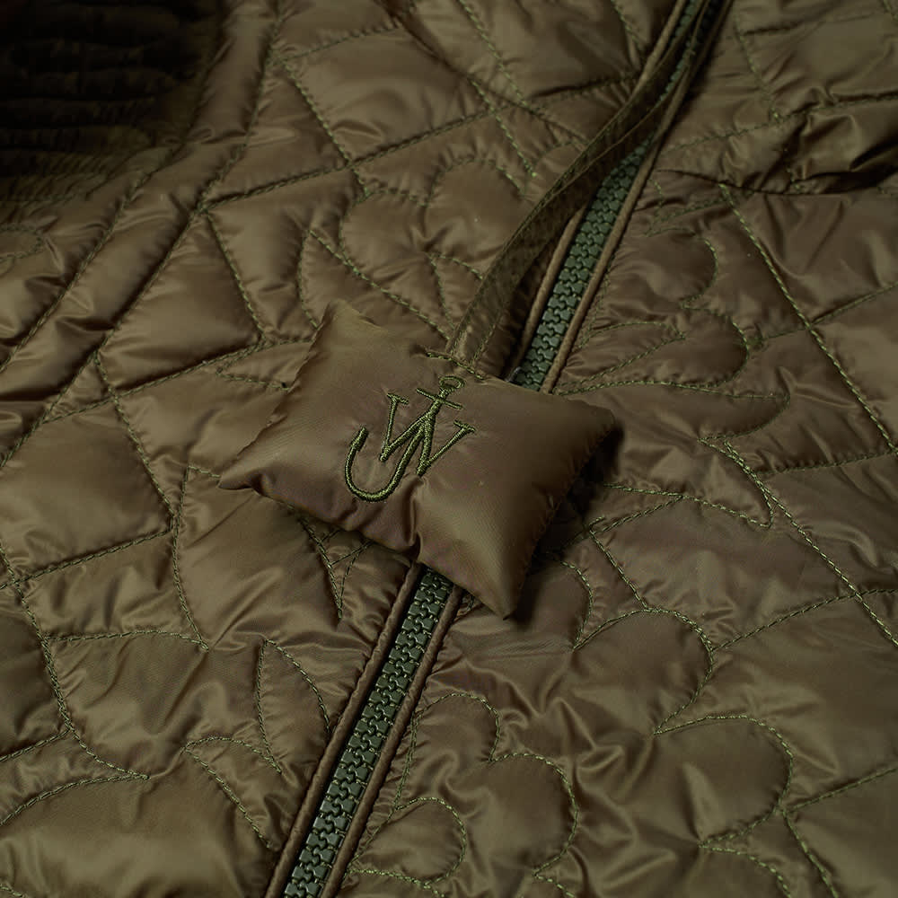 Moncler Genius x JW Anderson Quilted Hooded Jacket - Olive