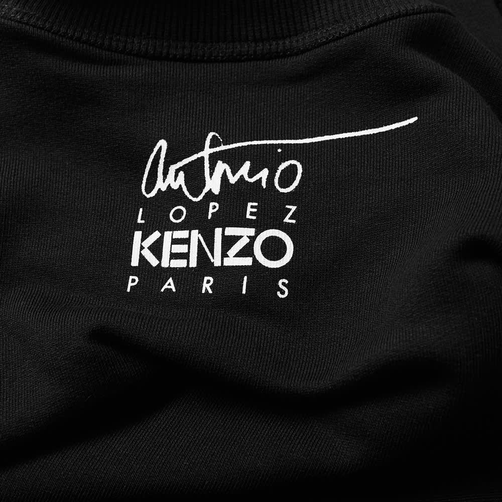 Kenzo Antonios Girls Crew Sweat - Black