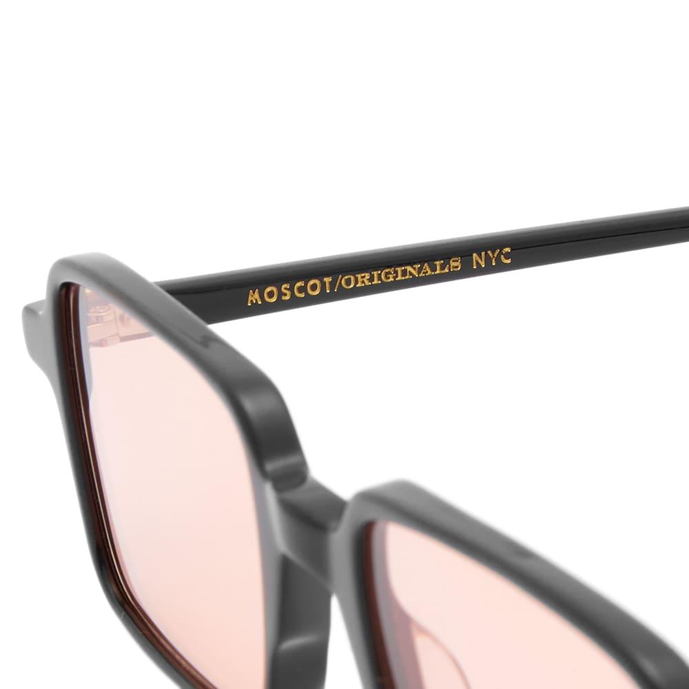 Moscot Shindig Sunglasses - Black & Rose