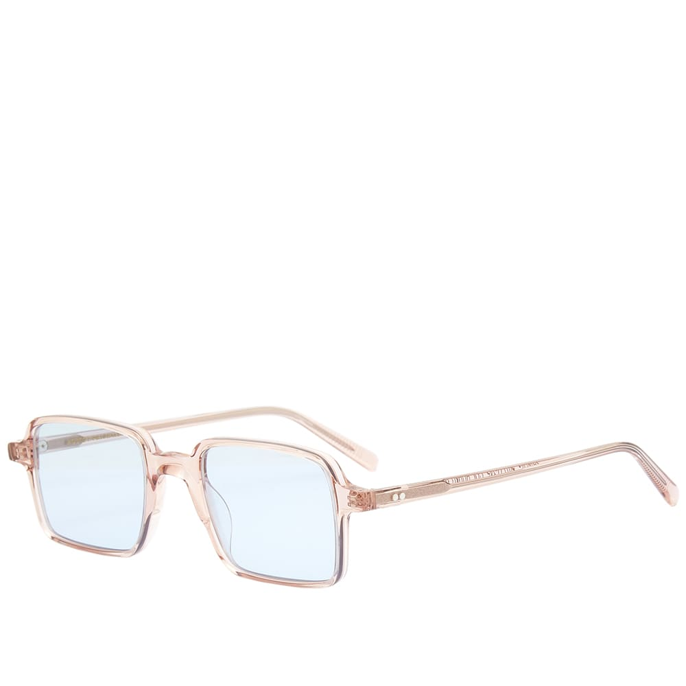 Moscot Shindig Sunglasses - Burnt Rose & Bel Air Blue