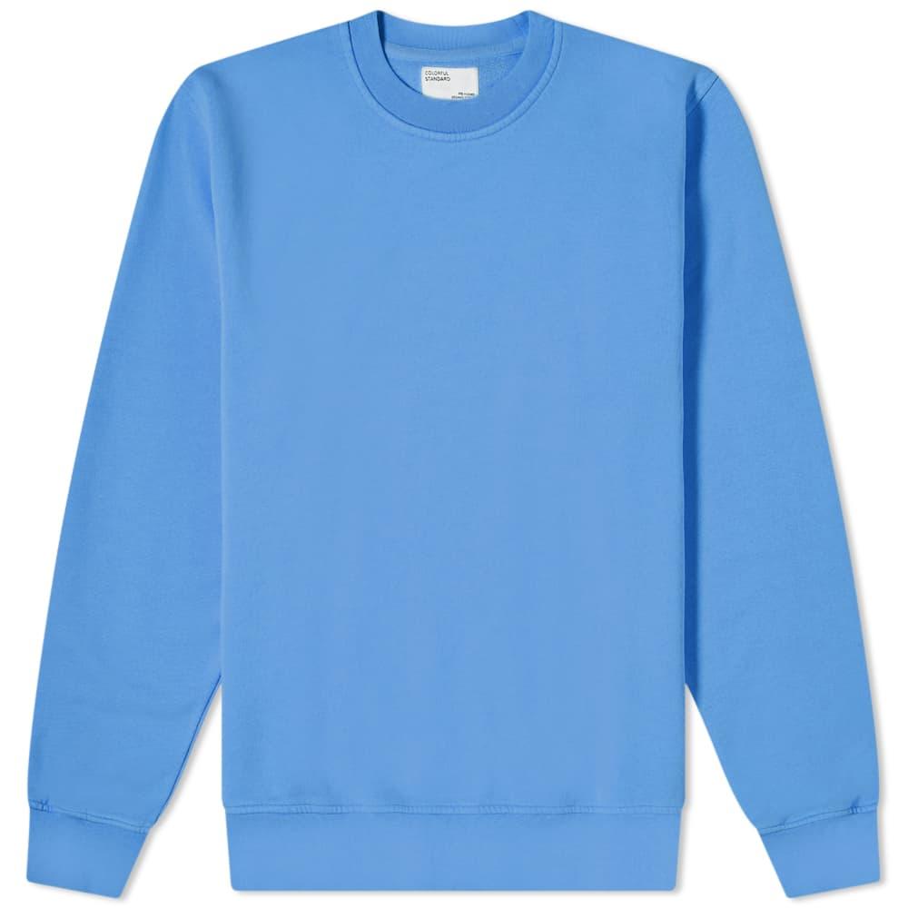 Colorful Standard Classic Organic Crew Sweat - Sky Blue