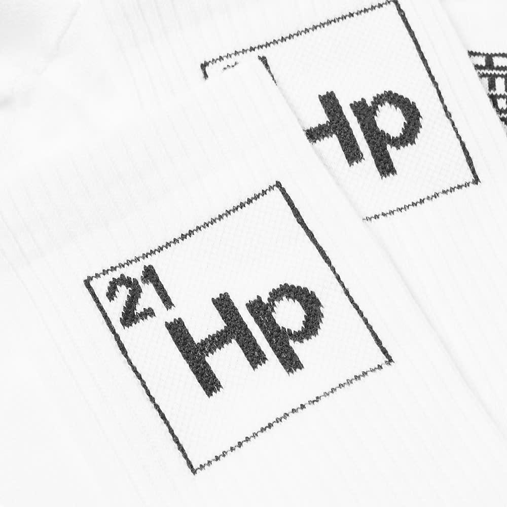 Heron Preston Hp Periodic Long Socks - White