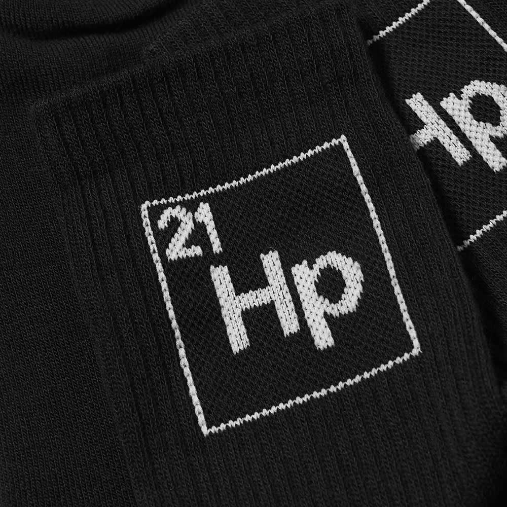 Heron Preston Hp Periodic Long Socks - Black