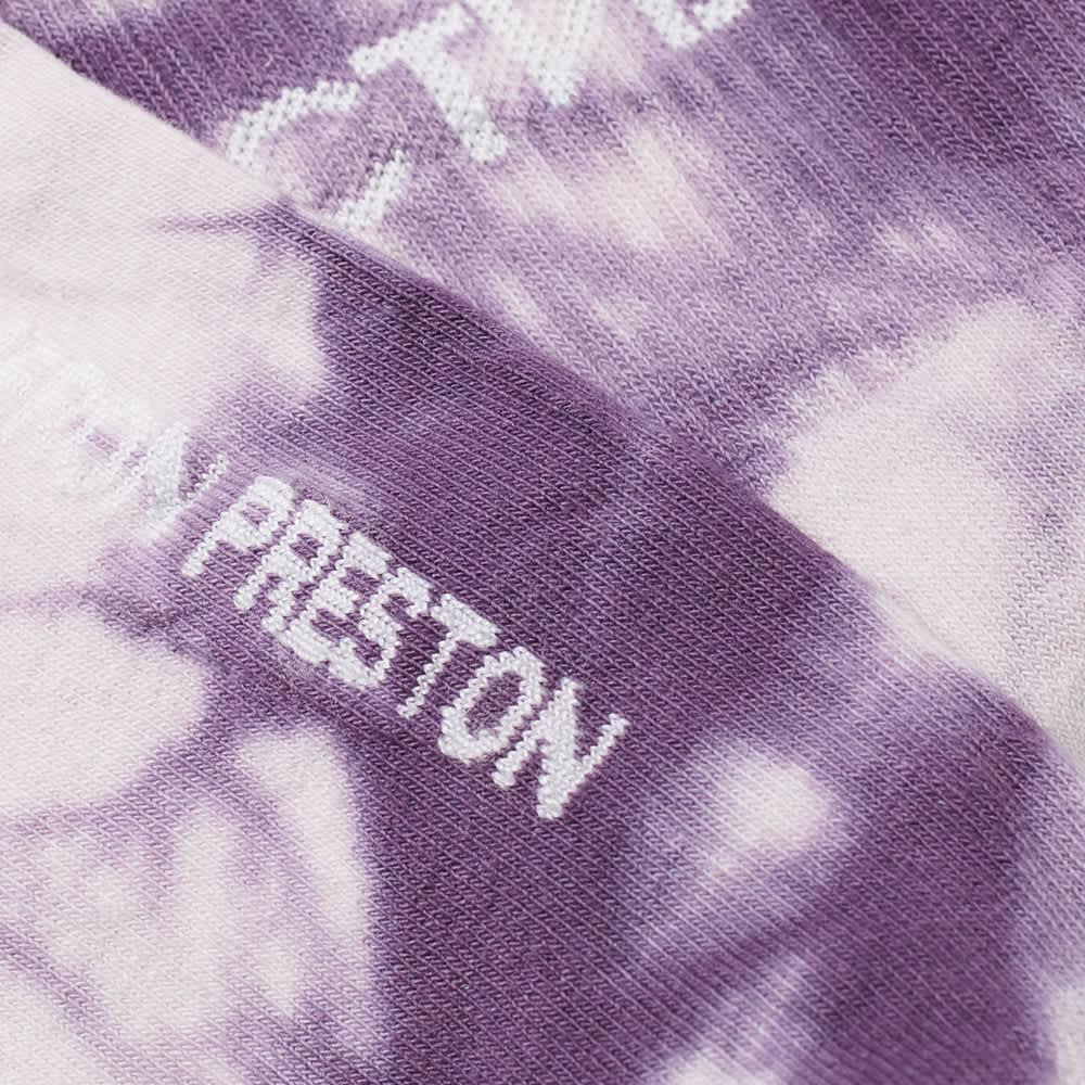 Heron Preston Ctnmb Long Socks Tie Dye - Purple