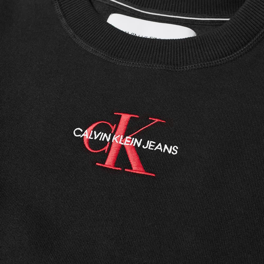 Calvin Klein New Iconic Essential Crew Sweat - CK Black