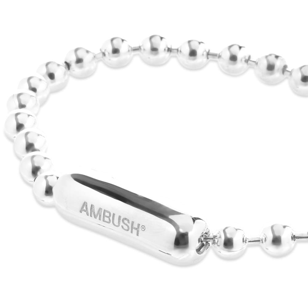 Ambush Ball Chain Bracelet - Silver