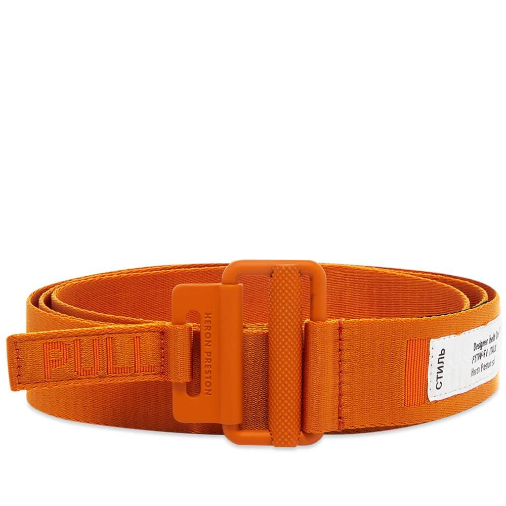Heron Preston Tape Belt 4Cm Classic - Orange