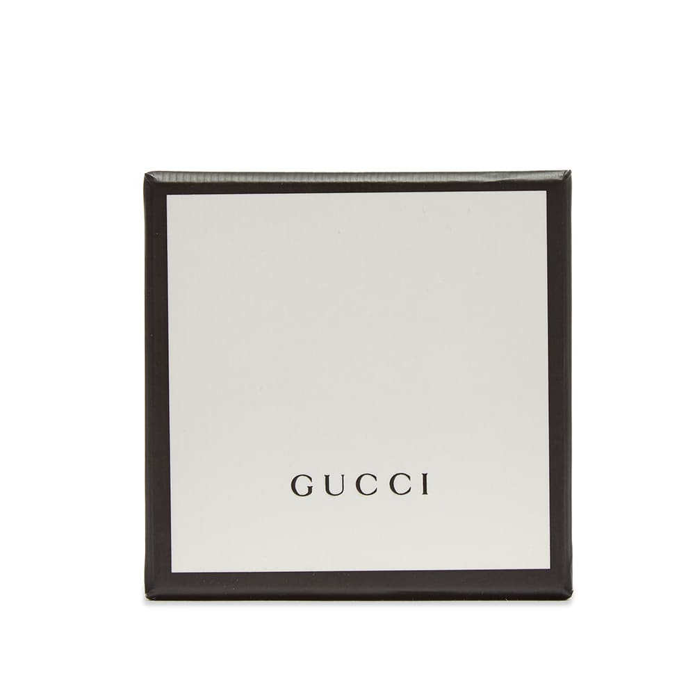 Gucci Double G Motif Bracelet - Aged Sterling Silver