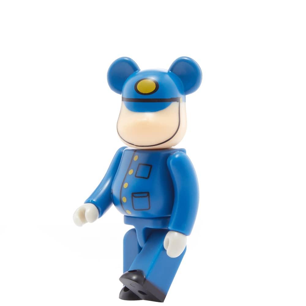 Medicom Tobu Railway SLTaiju Engineer Be@rbrick - Blue 100%