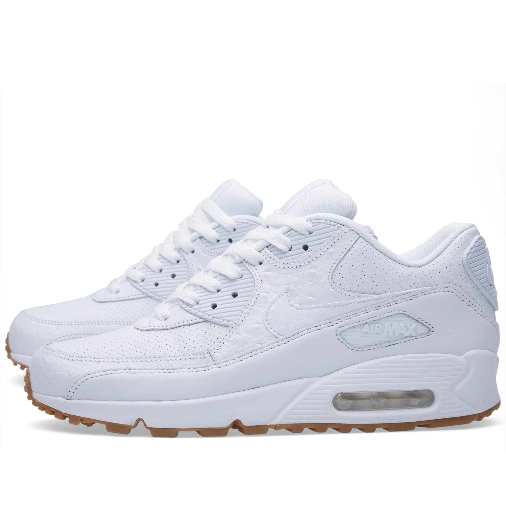 Air Max 90 Leather Pa Ostrich Nike 705012 111 white
