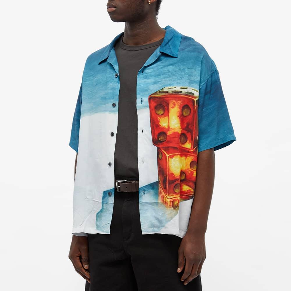 Stussy Dice Painting Shirt - Blue