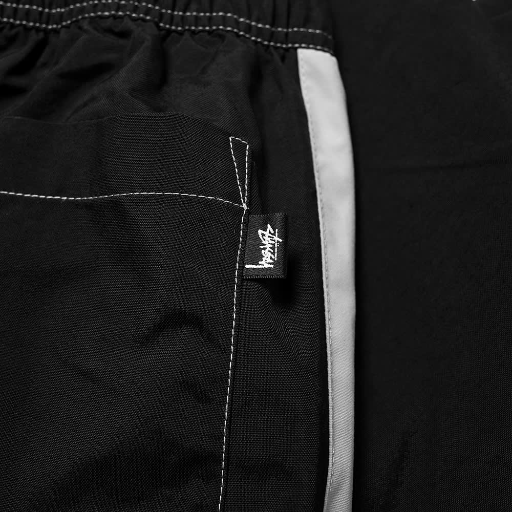Stussy Panel Relaxed Track Pant - Black
