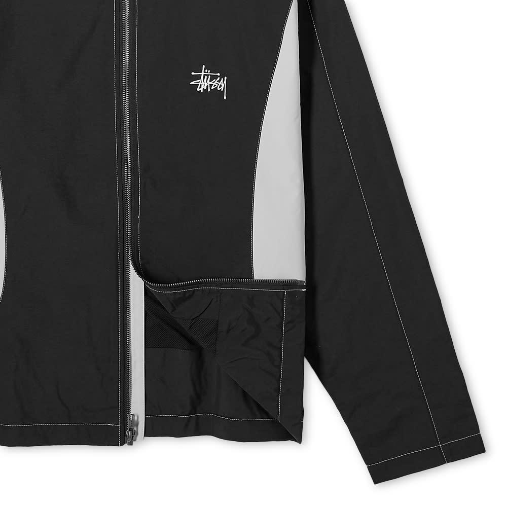 Stussy Panel Track Jacket - Black