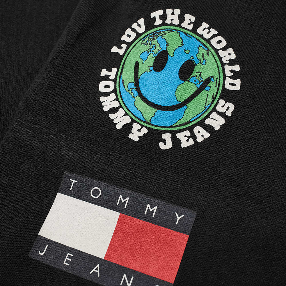 Tommy Jeans Tj Us Luv The World Sweat Pant - Black