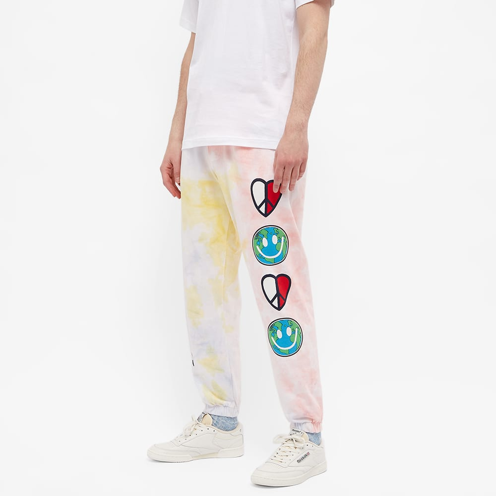 Tommy Jeans Tj Us Luv The World Sweat Pant - Tie Dye