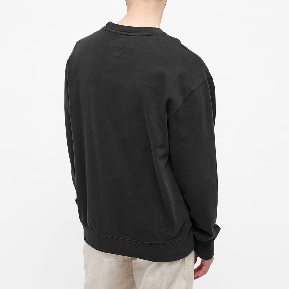 Tommy Jeans Tj Us Luv The World Crew Sweat - Black
