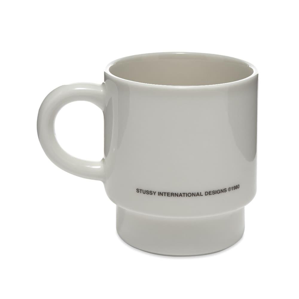 Stussy 3 People Stacking Mug - White