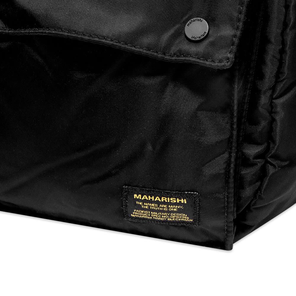 Maharishi Travel Bag - Black