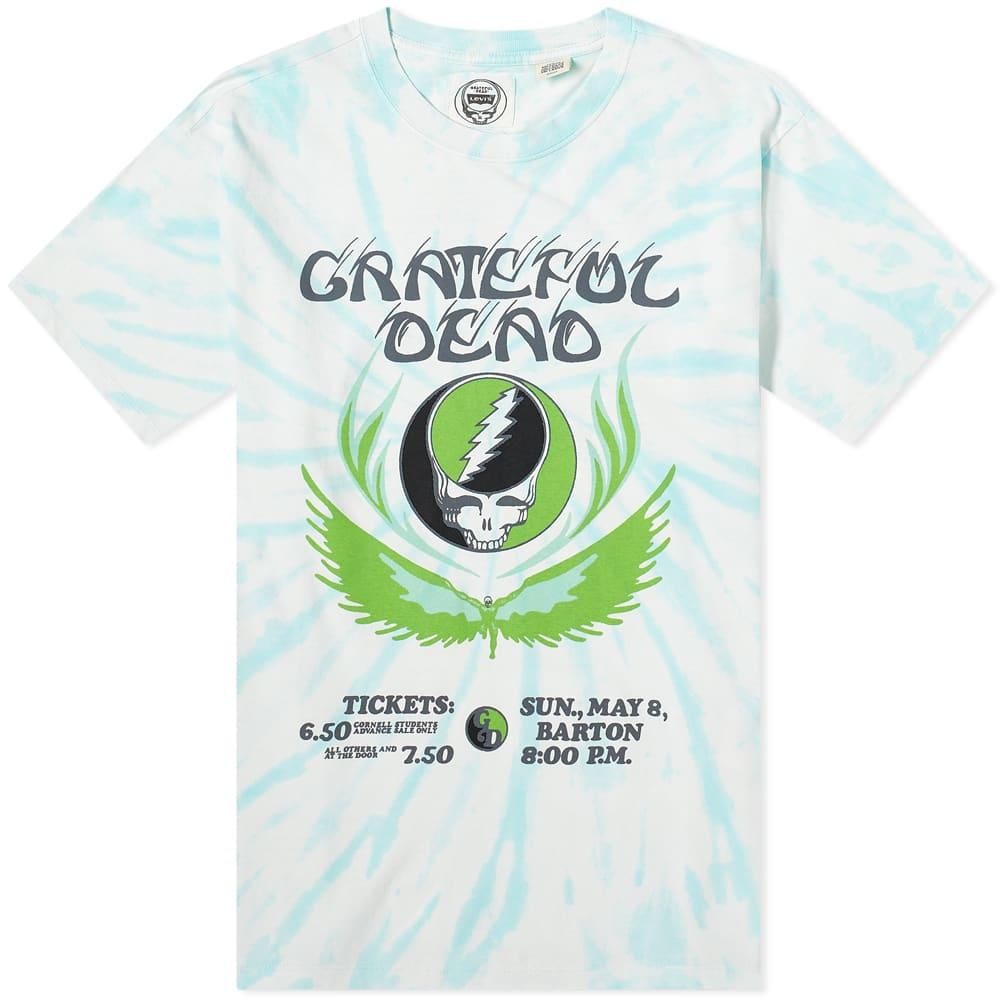 Levi's Vintage Clothing x Grateful Dead Tie Dye Poster Tee - Green