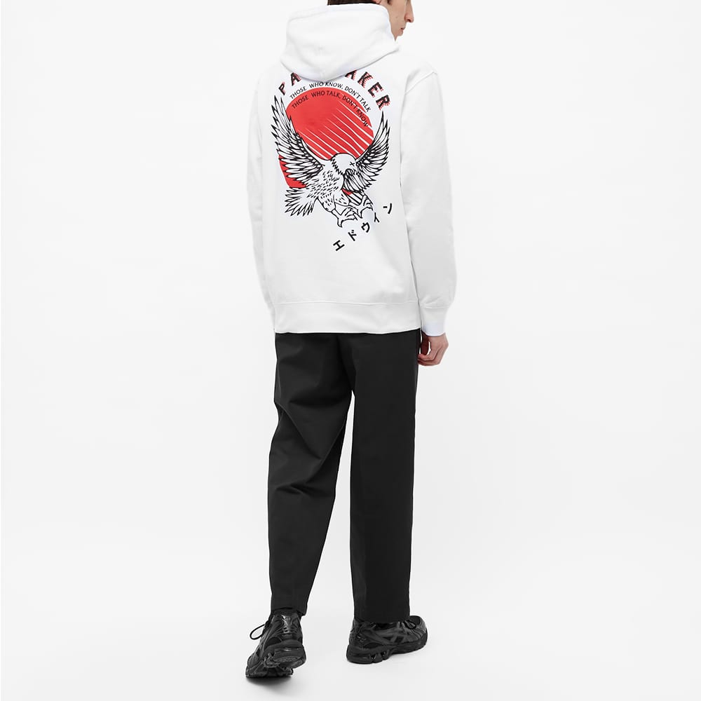 Edwin x Pacemaker Eagle Popover Hoody - White