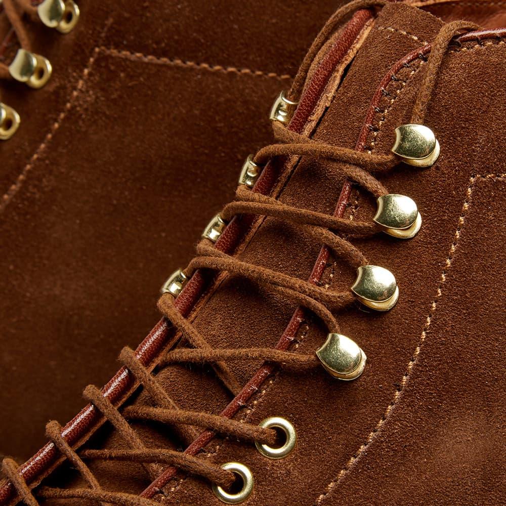 Alden Round Toe Boot - Snuff Suede