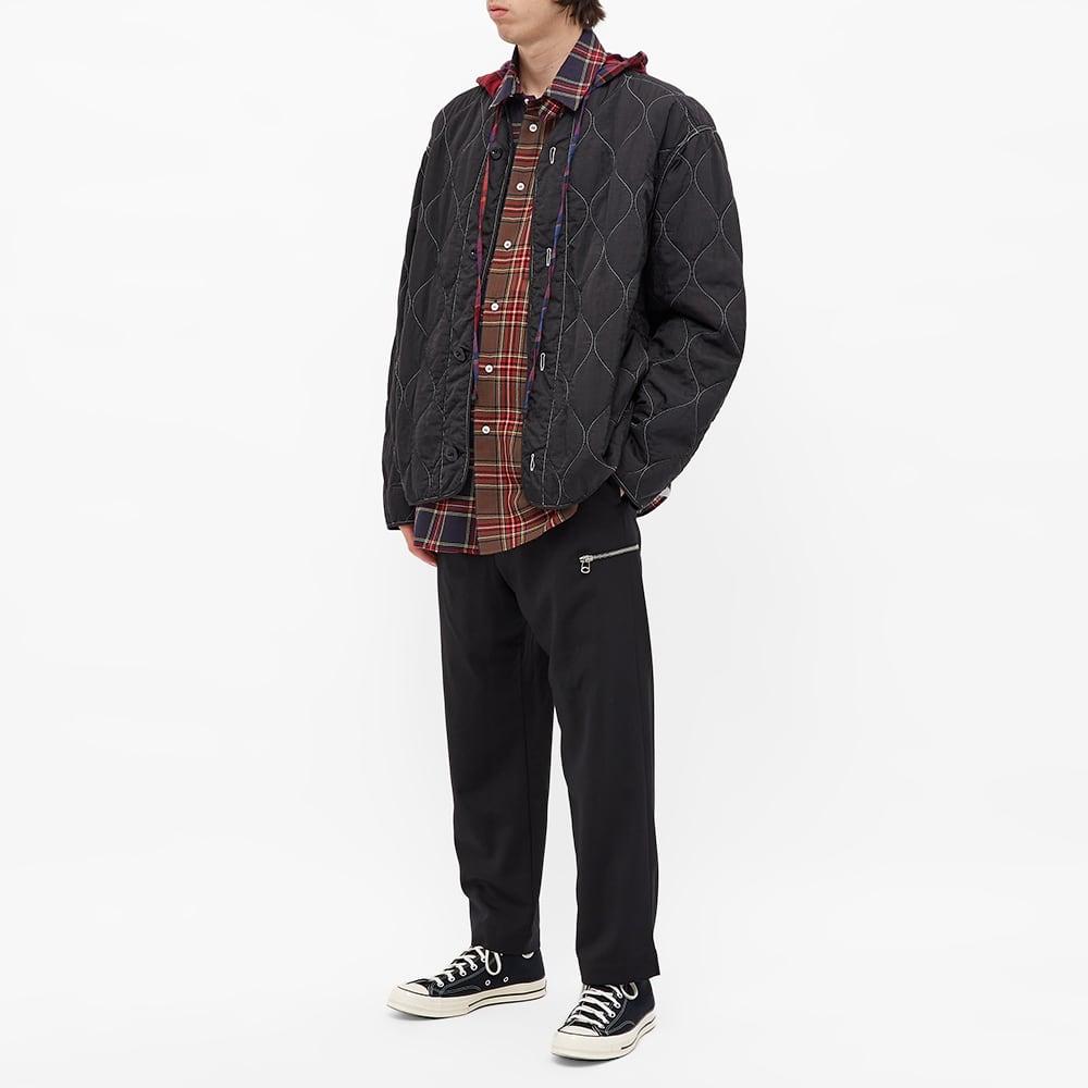 Loewe Hooded Check Shirt - Multi