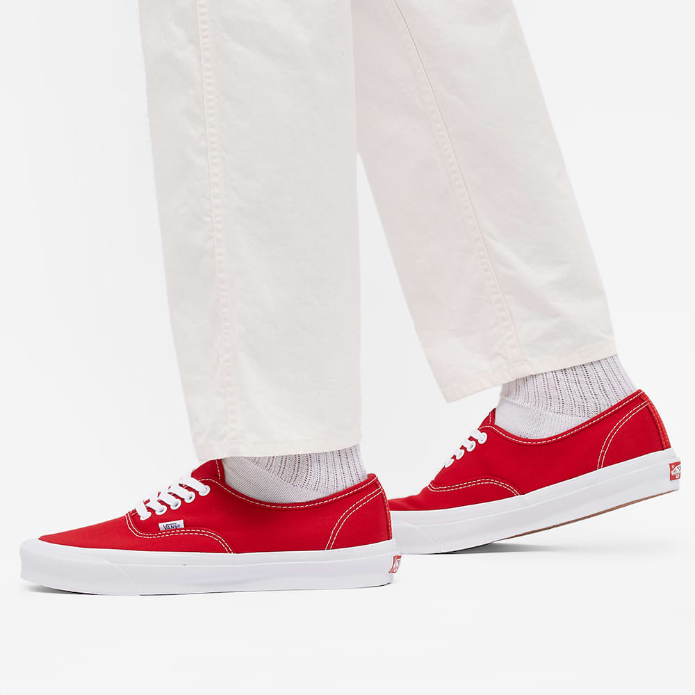 Vans Vault UA OG Authentic LX - Red & True White