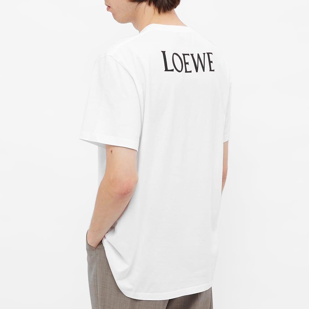 Loewe Pizza Print Tee - White