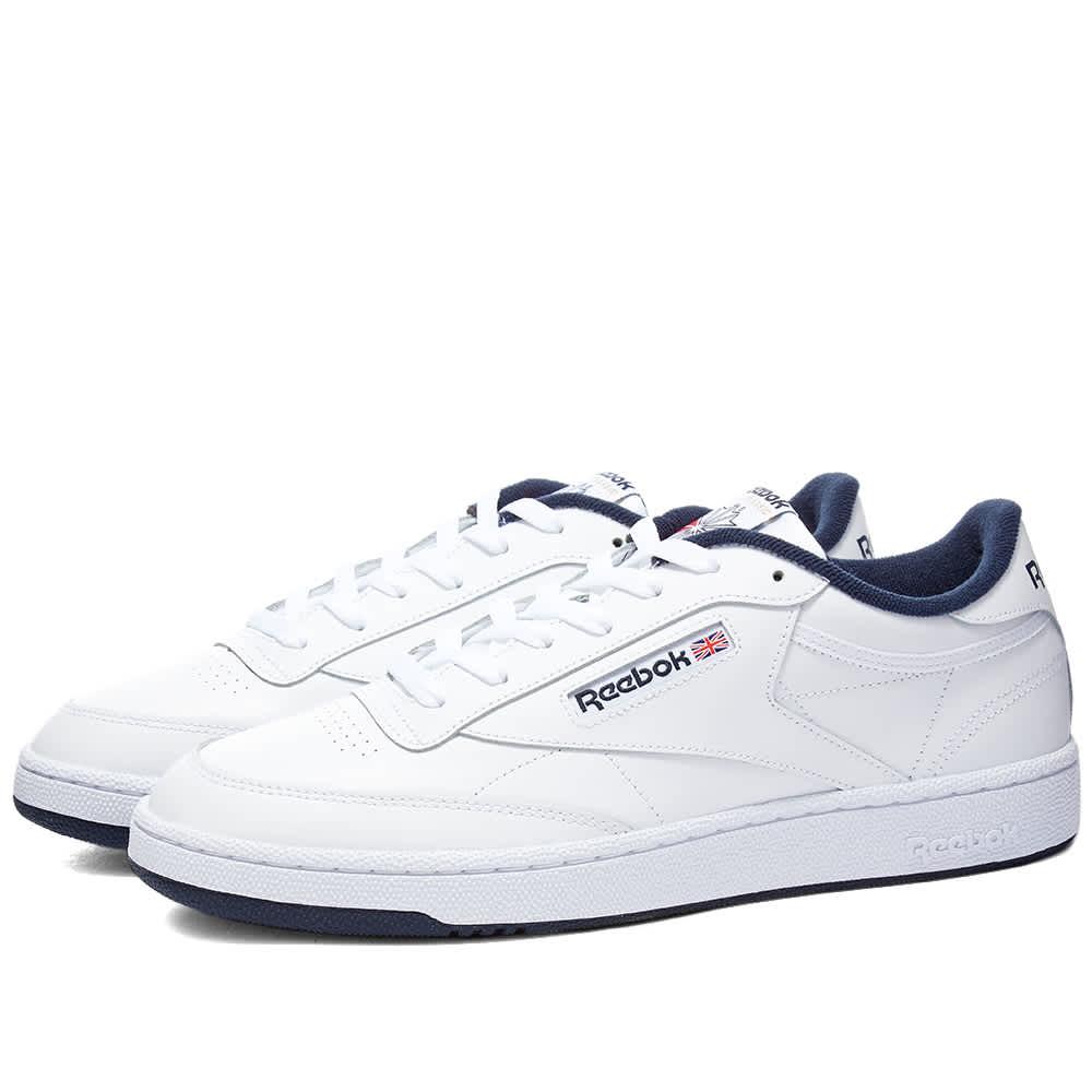 Reebok Club C 85 - White & Navy