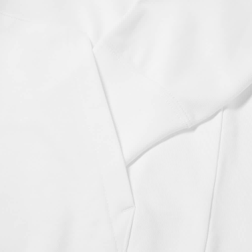 Calvin Klein Logo Jacquard Mock Neck Sweat - Bright White