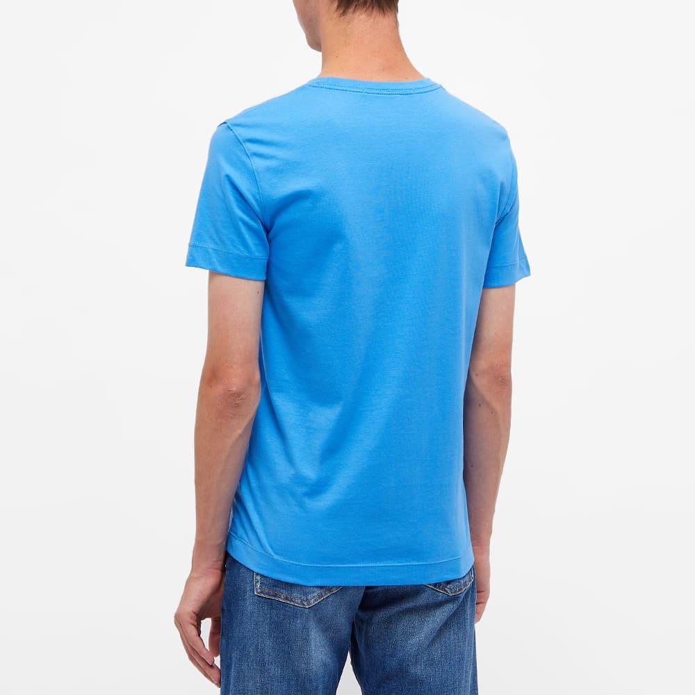 Calvin Klein Micro Branding Essential Tee - Mesmerizing Blue