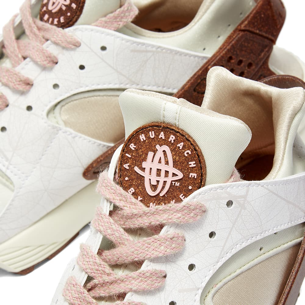 Nike Air Huarache W - White, Pink & Bone