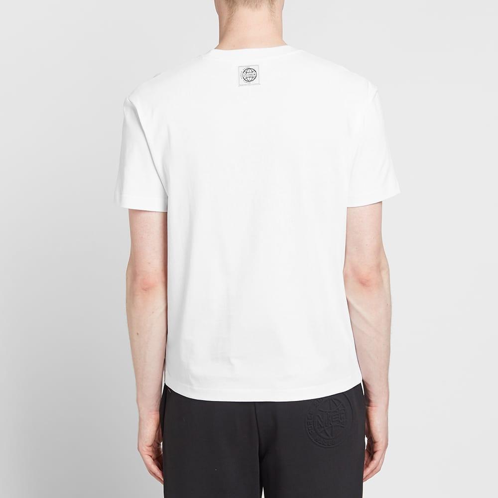 McQ Alexander McQueen Tonal Logo Tee - Optic White