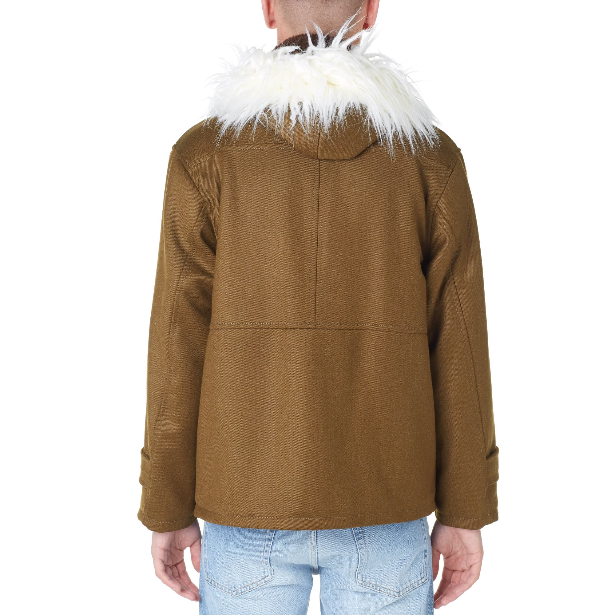Gosha Rubchinskiy Fur Collar Parka - Khaki