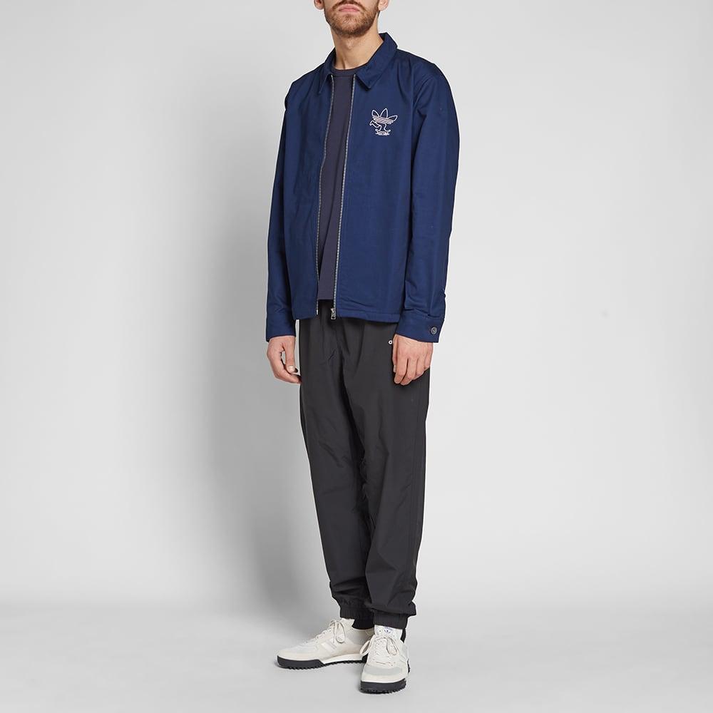 Adidas Ankeny Jacket - Collegiate Navy & White
