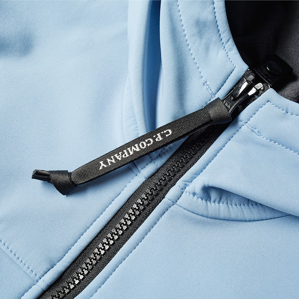 C.P. Company Undersixteen Goggle Soft Shell Jacket - Faded Denim