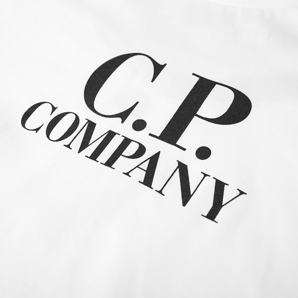 C.P. Company Undersixteen Back Goggle Print Tee - Gauze White
