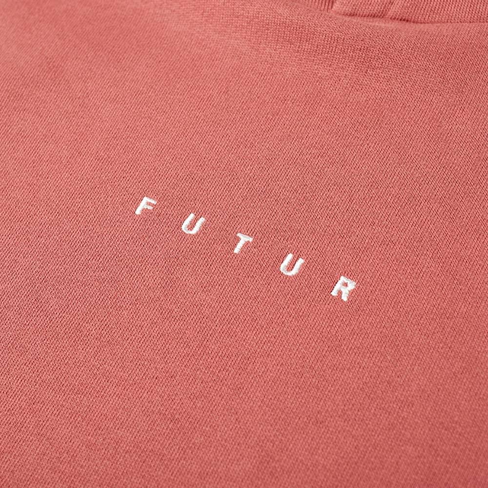 Futur Logo G Fit Hoody - Soft Red