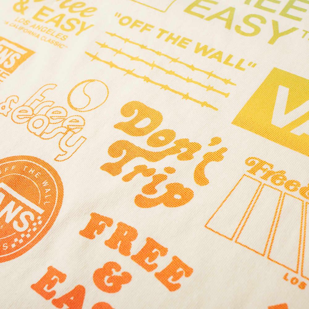 Vans Vault x Free & Easy Long Sleeve Tee  - Antique White