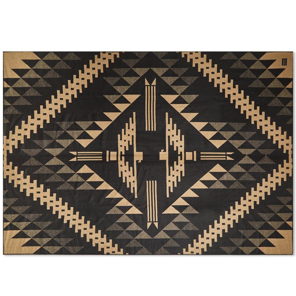 Pendleton Blanket Robe - Black